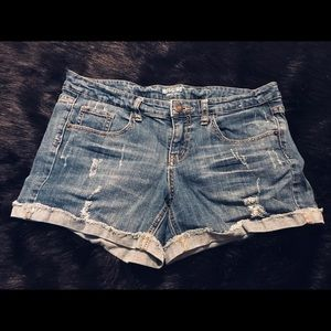 Mossimo Supply Mid Rise Jean Shorts